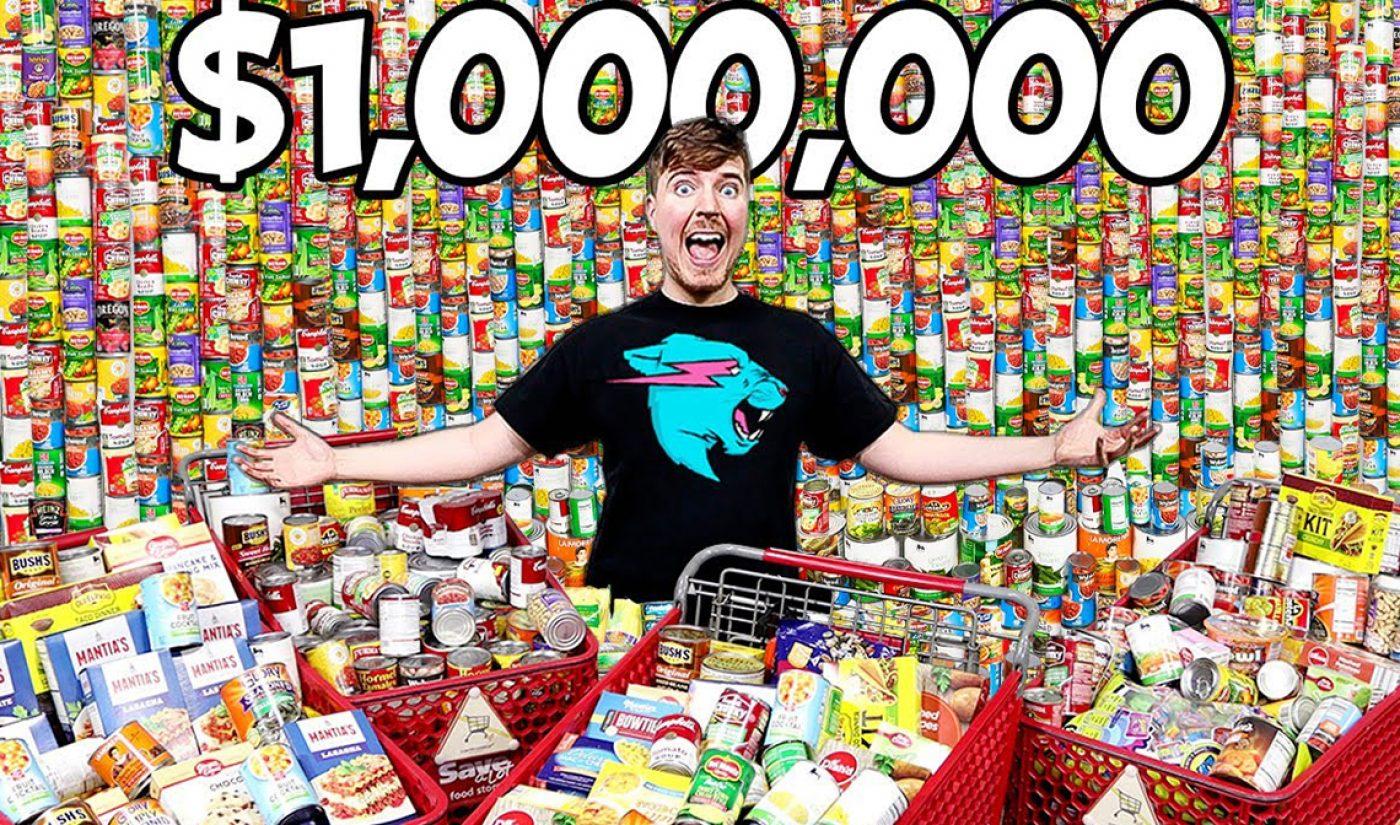 MrBeast Brings 1 Million Servings Of Protein To North Carolina Food Banks In Need