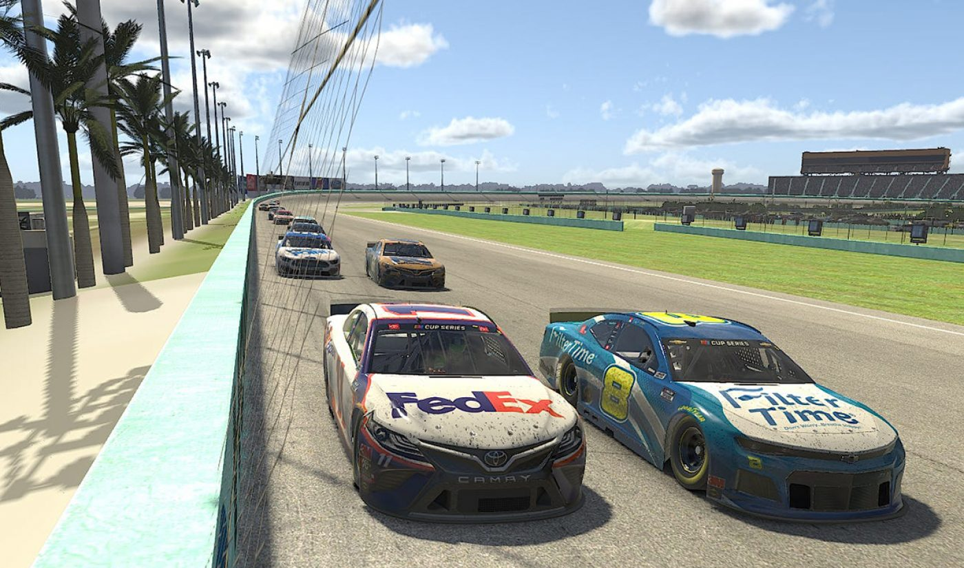 NASCAR's First Virtual Race Draws Record-Setting 903K Viewers, Seals Broadcast Deal For Rest Of Season