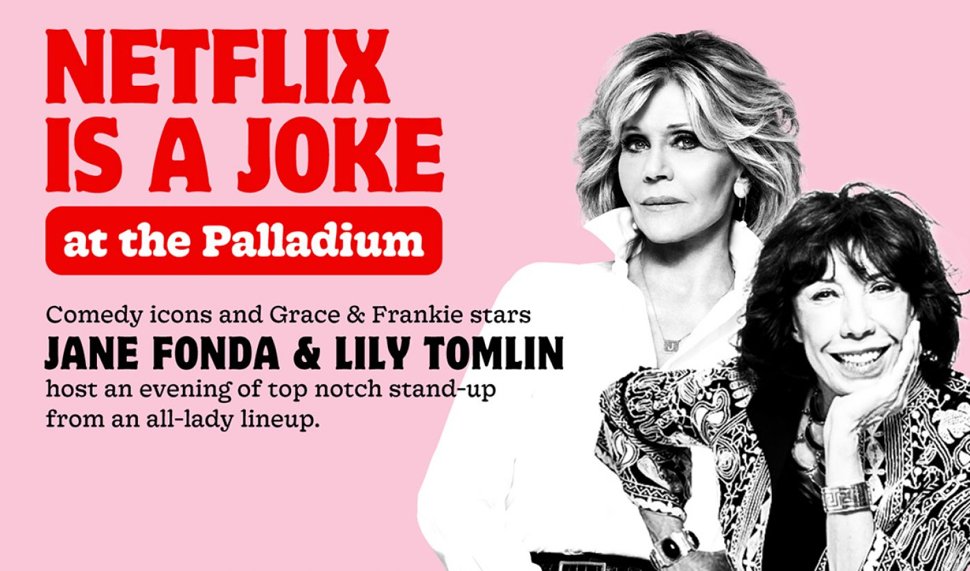 Netflix Takes The Stage With First-Ever Live Comedy Festival Featuring Wanda Sykes, Jane Fonda, David Letterman, More