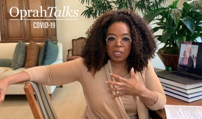 'Oprah Talks COVID-19' Is Apple TV+'s Lo-Fi, Long-Distance Look At Coronavirus