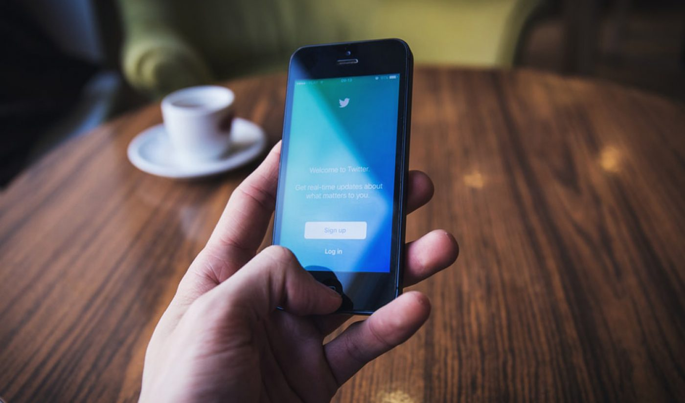 Twitter Gains 12 Million Users, But Will Take Q1 Operating Loss Due To Pandemic's Effects On Ad Revenue