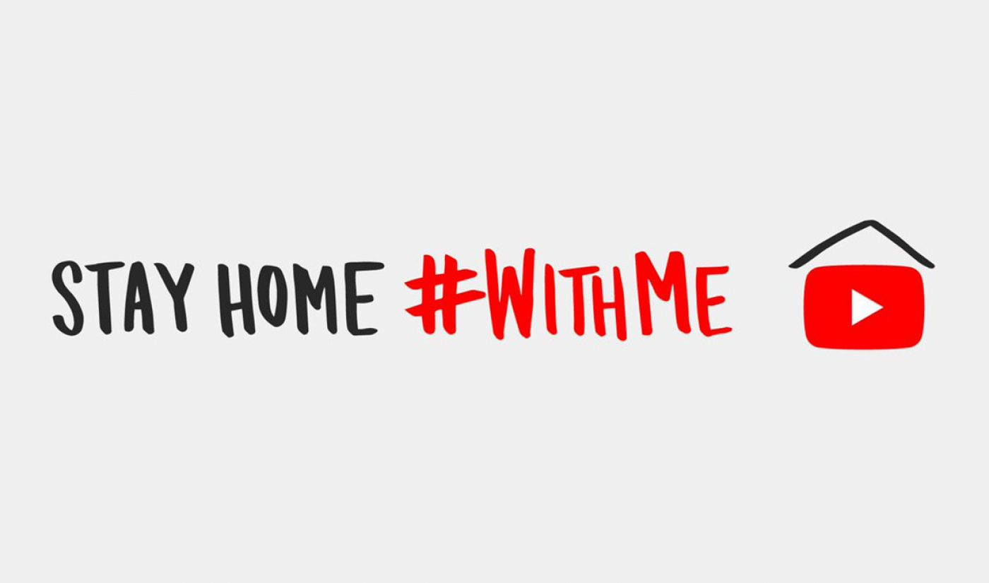 YouTube's '#WithMe' Social Distancing PSA Brings Together Emma Chamberlain, Casey Neistat, More