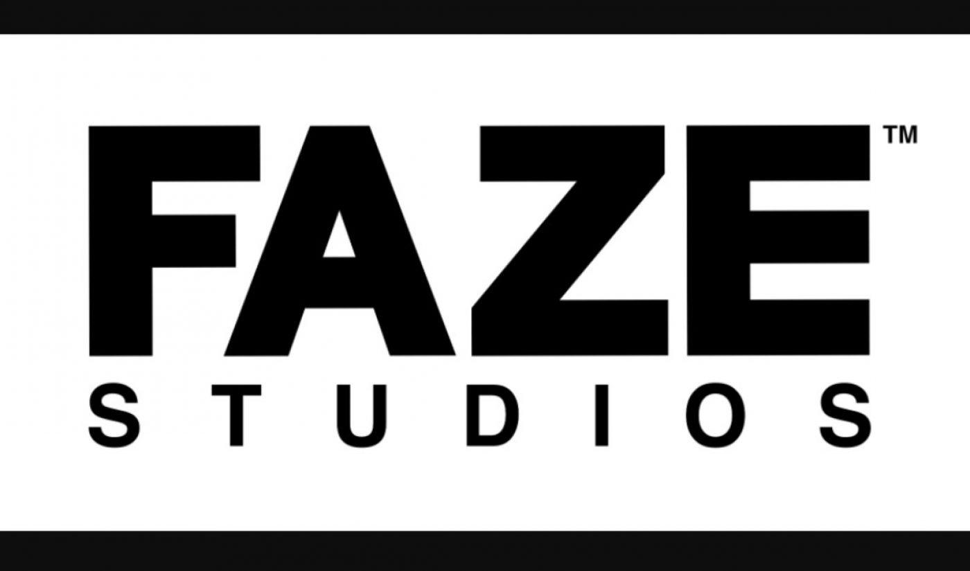 FaZe Clan Establishes 'FaZe Studios' To Create, Acquire Premium Projects For Film And TV