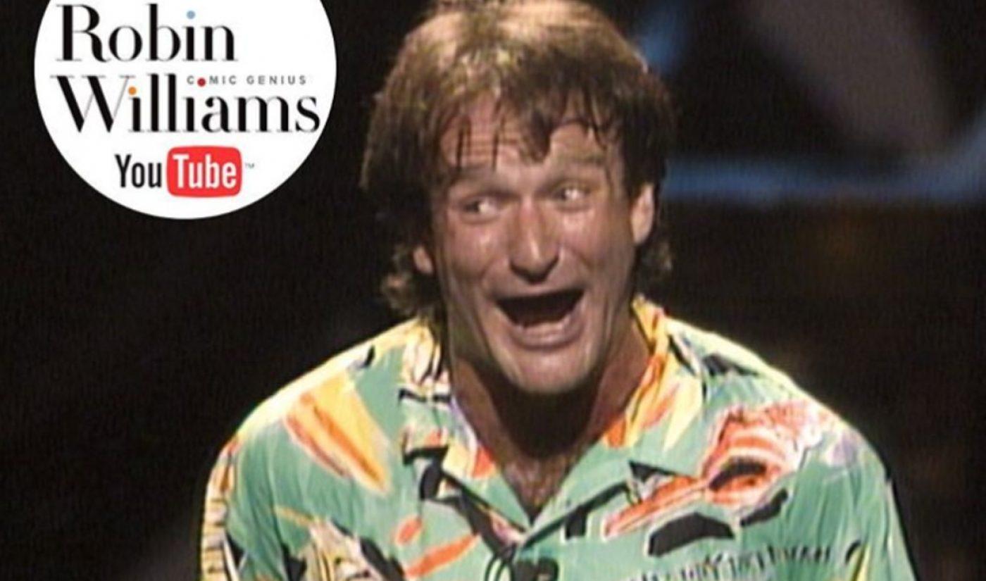 Robin Williams Estate Launches YouTube Channel To Commemorate The Comedic Legend
