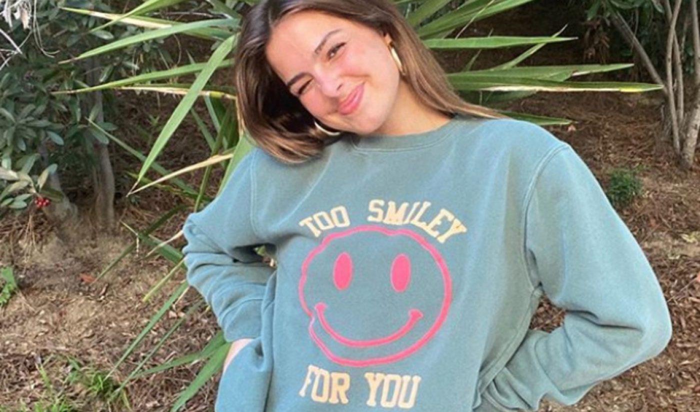 TikTok Phenom Addison Rae Drops Merch Brand In Collaboration With Fanjoy