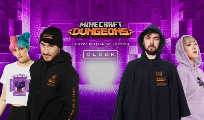 Markiplier And Jacksepticeye's Clothing Brand Cloak Digs Up 'Minecraft' Partnership