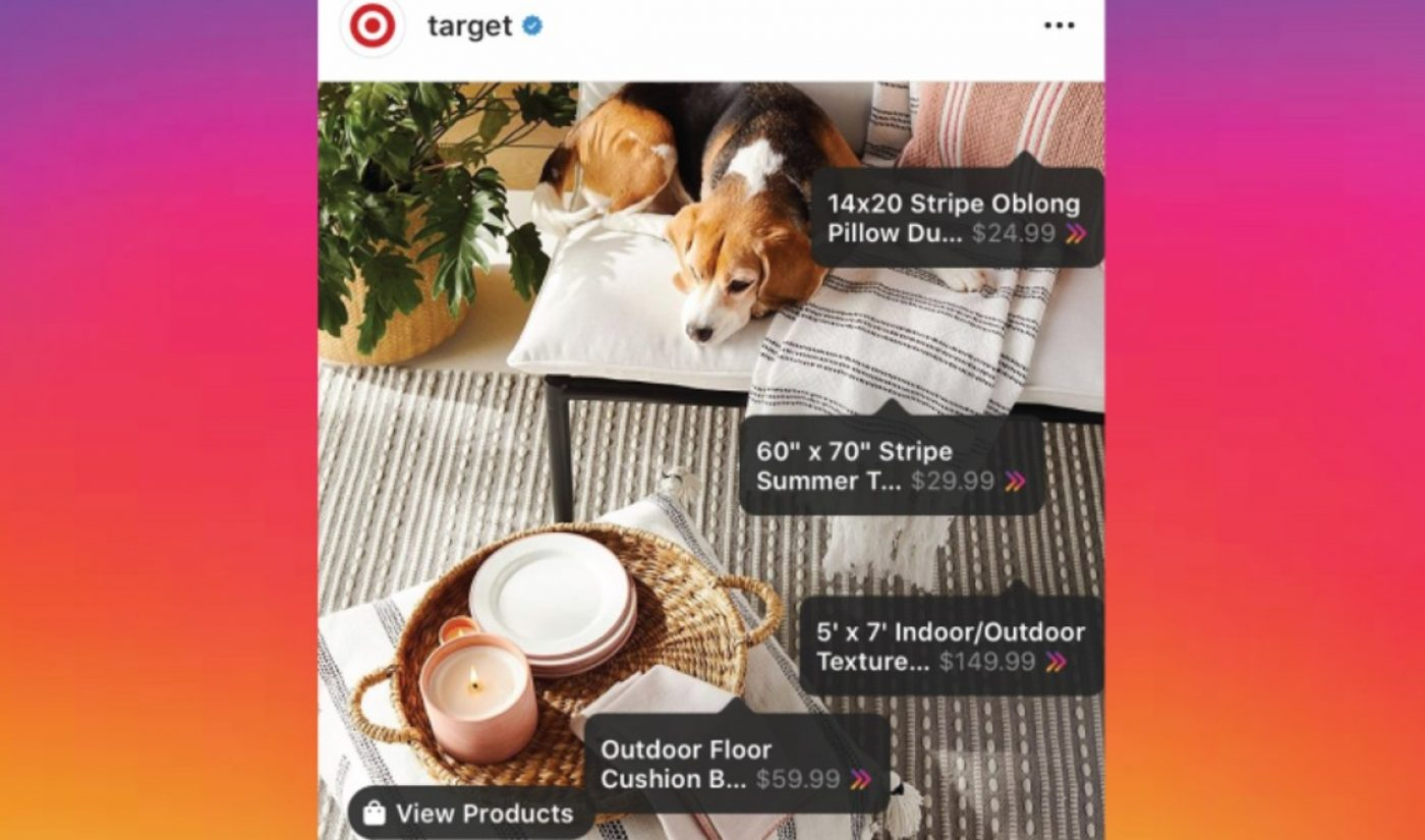 Amid Pandemic, Target Says It's The First Mass Retailer To Launch Shoppable Instagram Posts