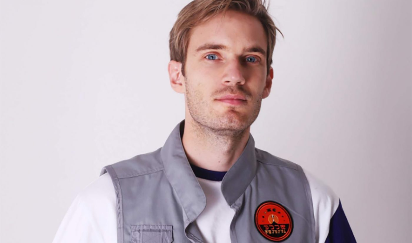 PewDiePie Signs Exclusive Livestreaming Deal With YouTube