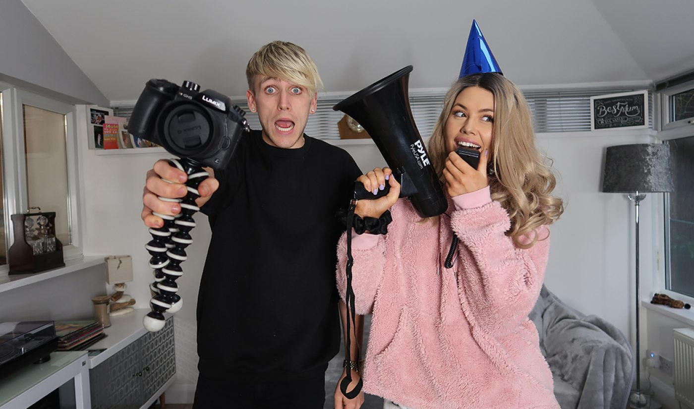 "TikTok Millionaires: Meet The U.K.'s ""TikTok Power Couple,"" Connor And Liana"