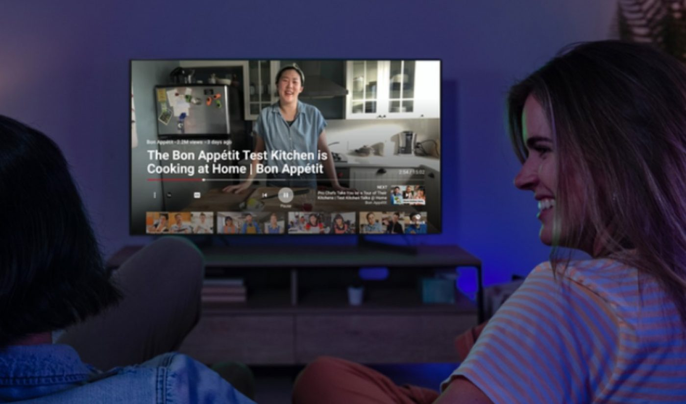 YouTube Accelerates Launch Of Connected TV Ad Products Amid Coronavirus Viewership Boom