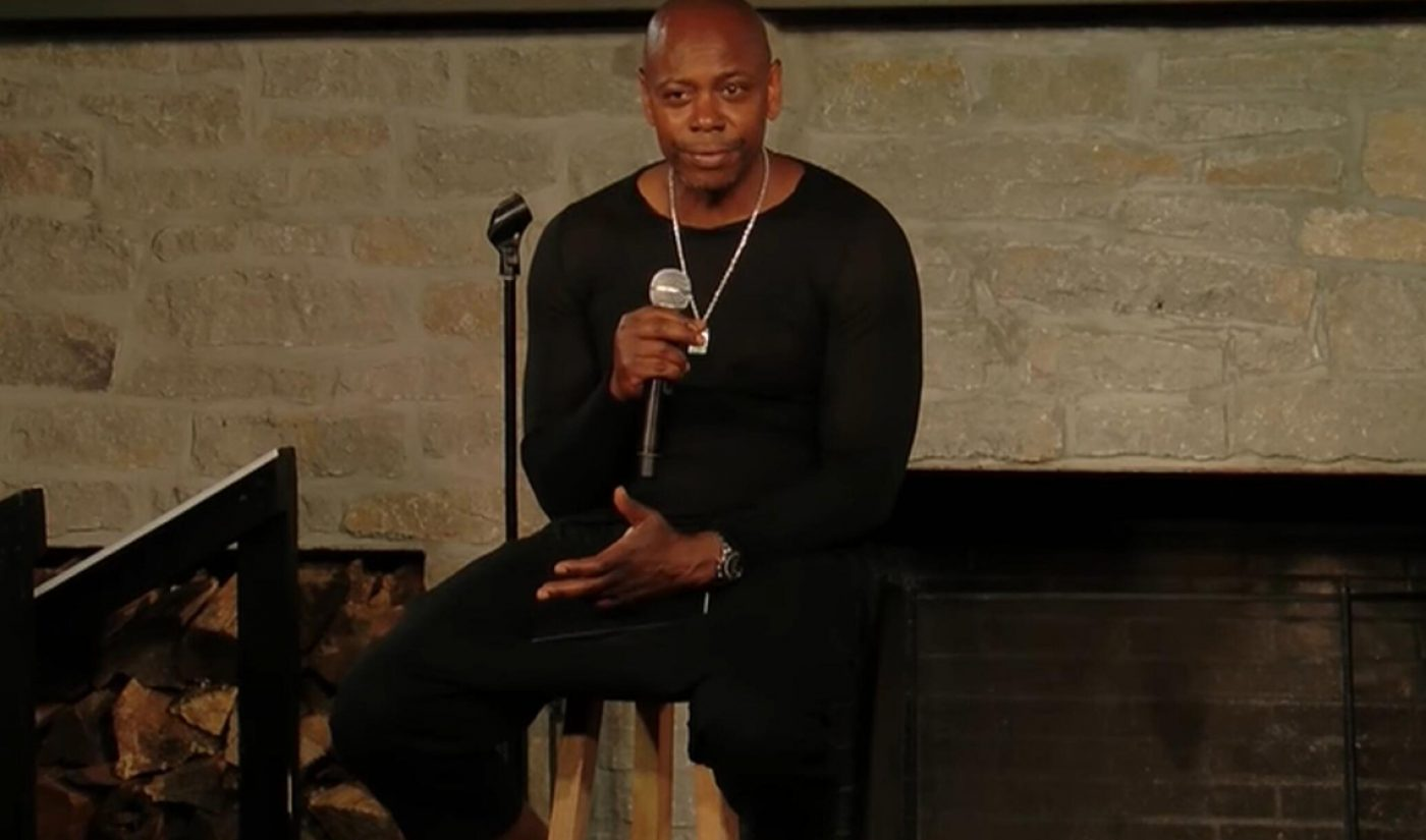 Netflix Drops Somber Dave Chappelle Special '8:46' On YouTube, Netting 3.4 Million Views In 24 Hours