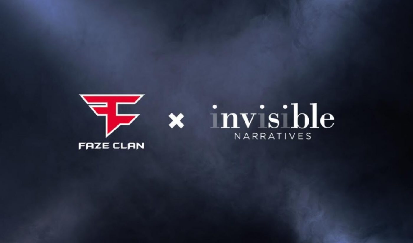 FaZe Clan To Release Movie Slate Beginning This Year In Pact With 'Invisible Narratives'