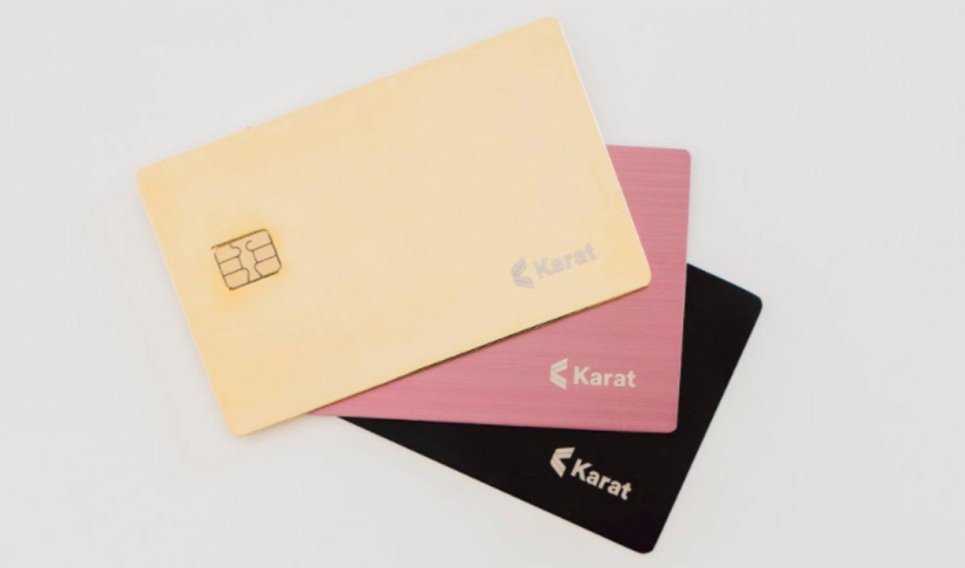 Fintech Startup 'Karat' Raises $4.6 Million To Launch Credit Card Exclusively For Digital Creators