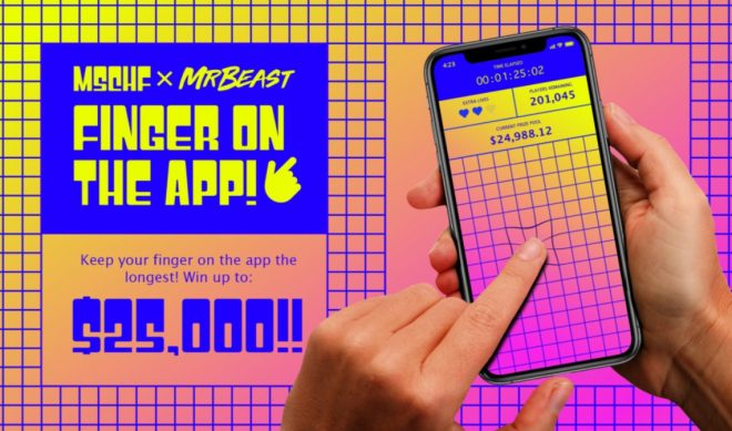 MrBeast Links With Wacky Product Startup MSCHF On One-Time Mobile Game With $25,000 Prize