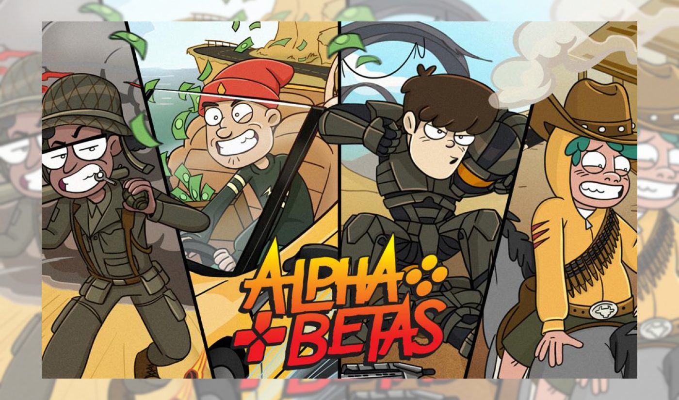 YouTubers VanossGaming, I Am Wildcat, BasicallyIDoWrk, Terroriser To Star In 3BlackDot Animated Series 'Alpha Betas'