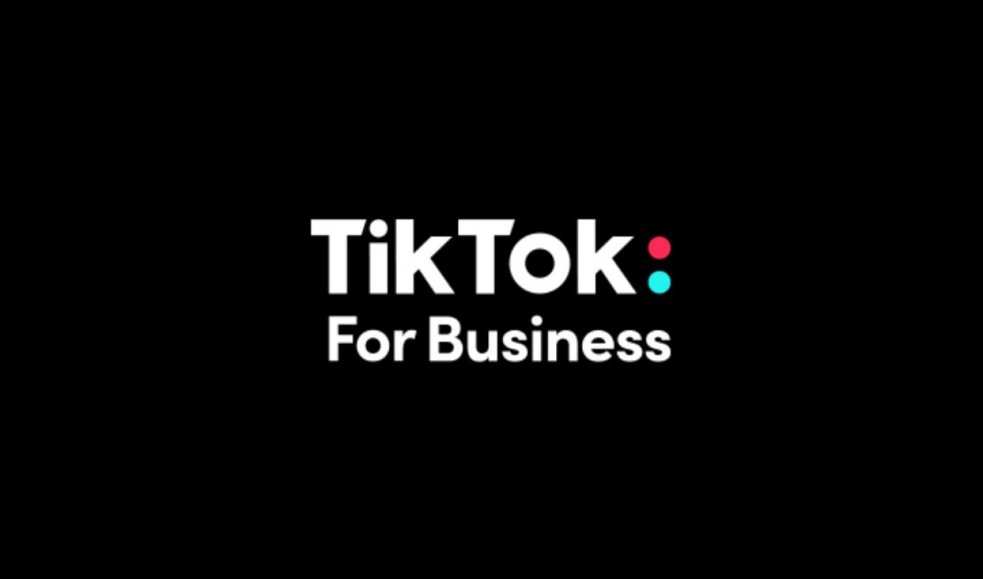 At NewFronts, TikTok Brings Ad Offerings To The Fore With New 'TikTok For Business' Platform