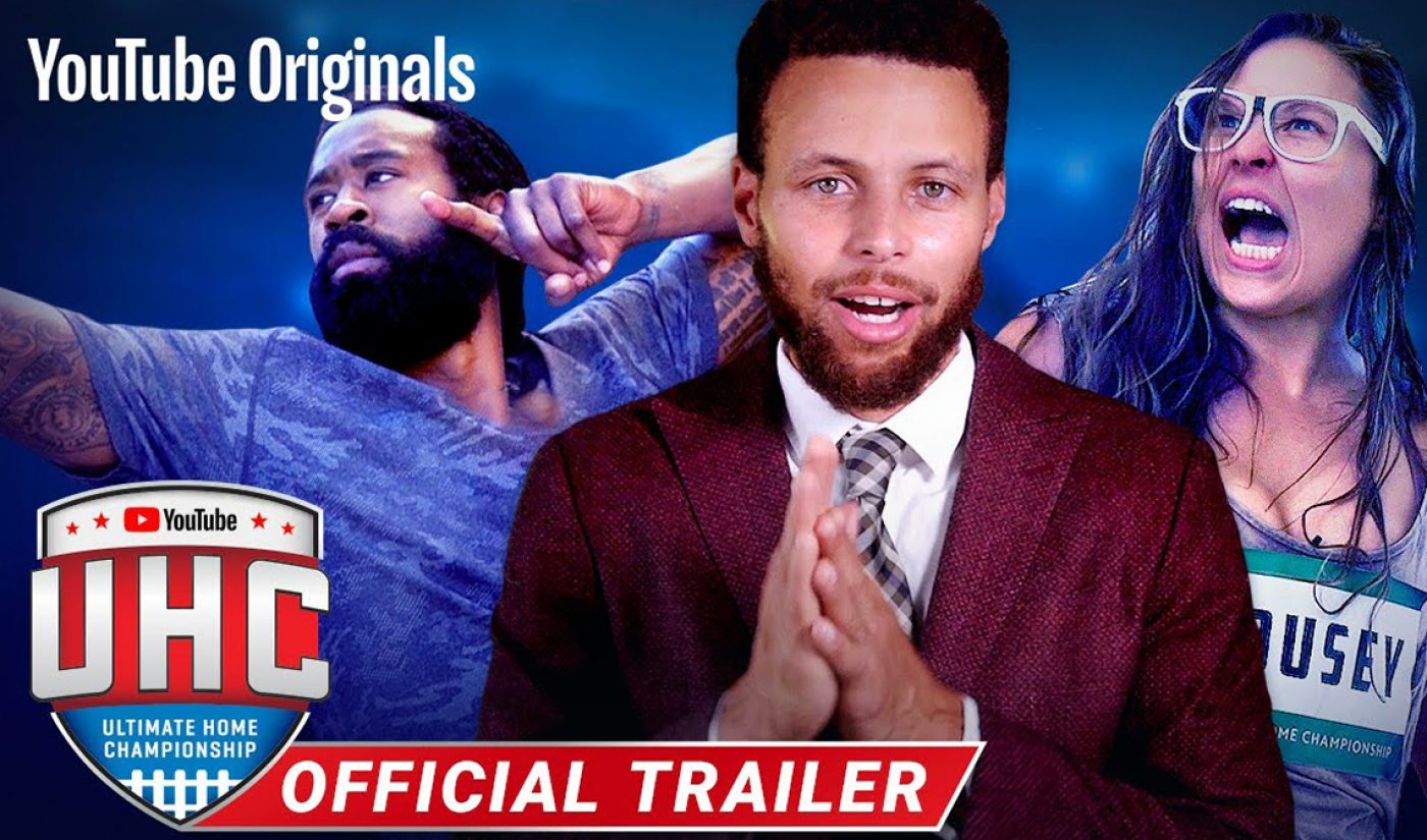 NBA All-Star Stephen Curry To Host YouTube Competition Special 'Ultimate Home Championship'