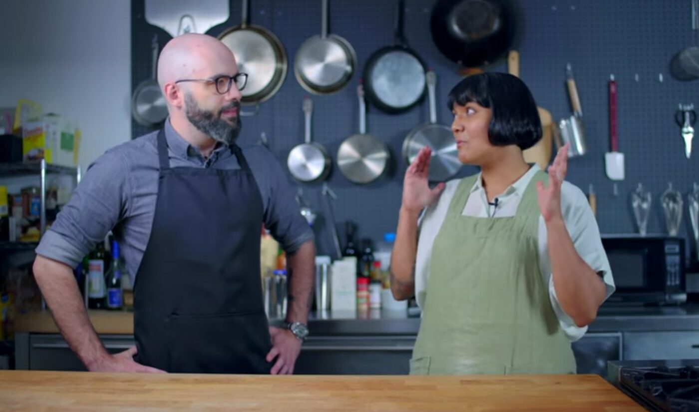 As Bon Appétit YouTube Channel Remains Dormant, 'Test Kitchen' Host Sohla El-Waylly Collabs On Binging With Babish