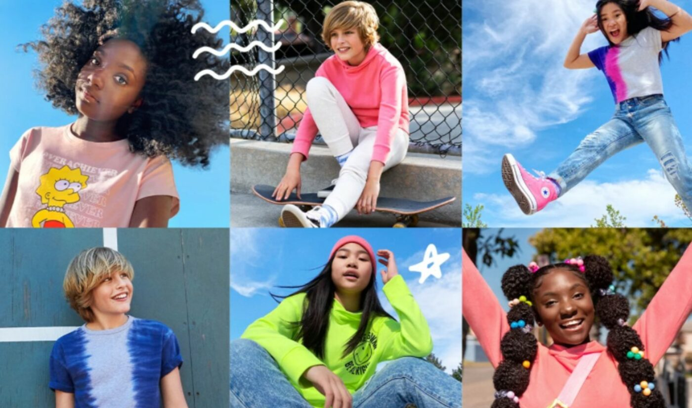 PopSugar Pairs With Old Navy To Launch Gender-Inclusive Clothing Line For Tweens