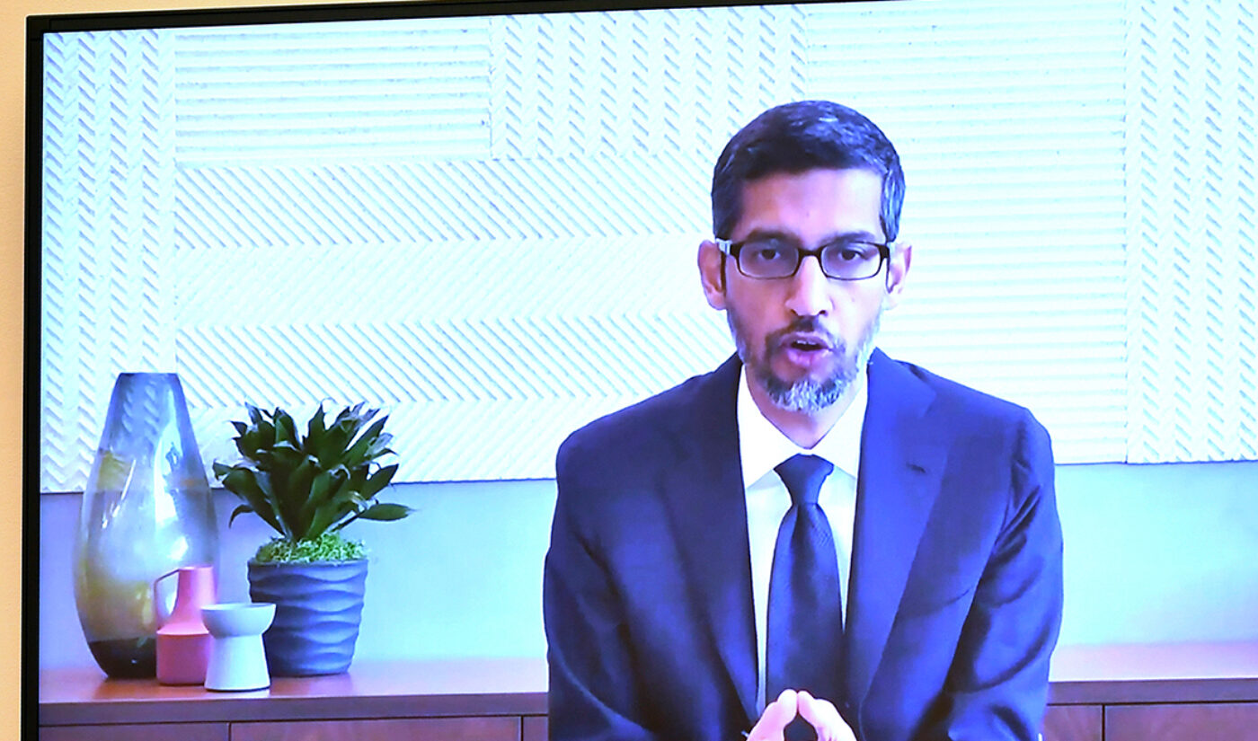 Google CEO Sundar Pichai Talks YouTube Data Privacy At Antitrust Hearing