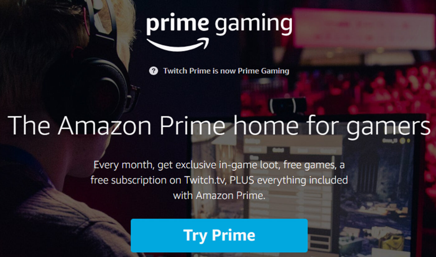 Amazon Rebrands Twitch Prime, No Longer Requires Twitch Account To Access Benefits