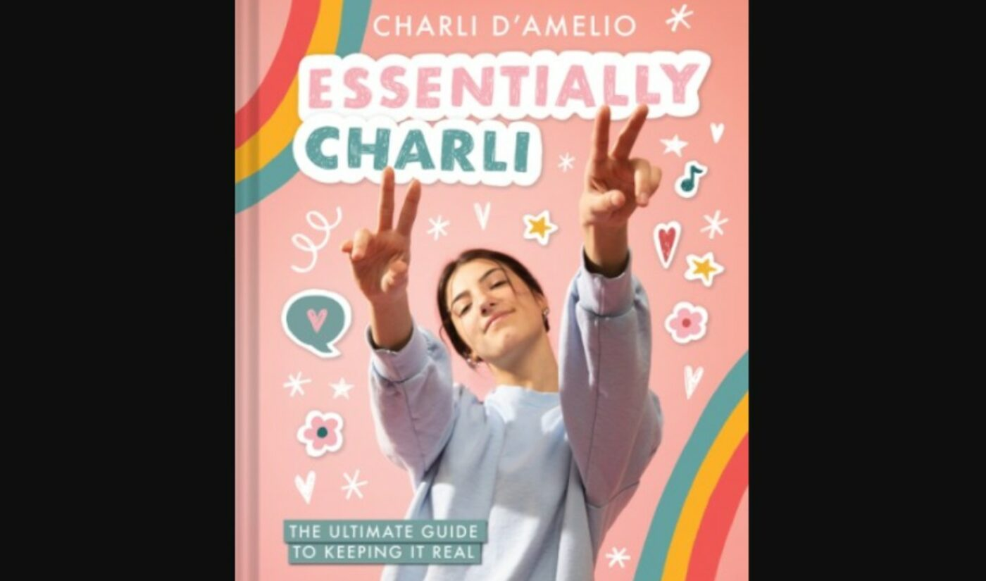 Charli D'Amelio To Release Autobiographical Advice Book, 'Essentially Charli'
