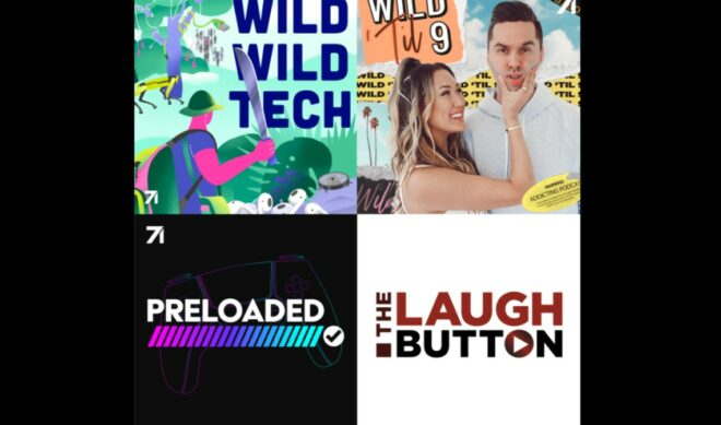 Studio71 Sets New Podcasts From LaurDIY, JayVee, Forges Monetization Pact With 'The Laugh Button'