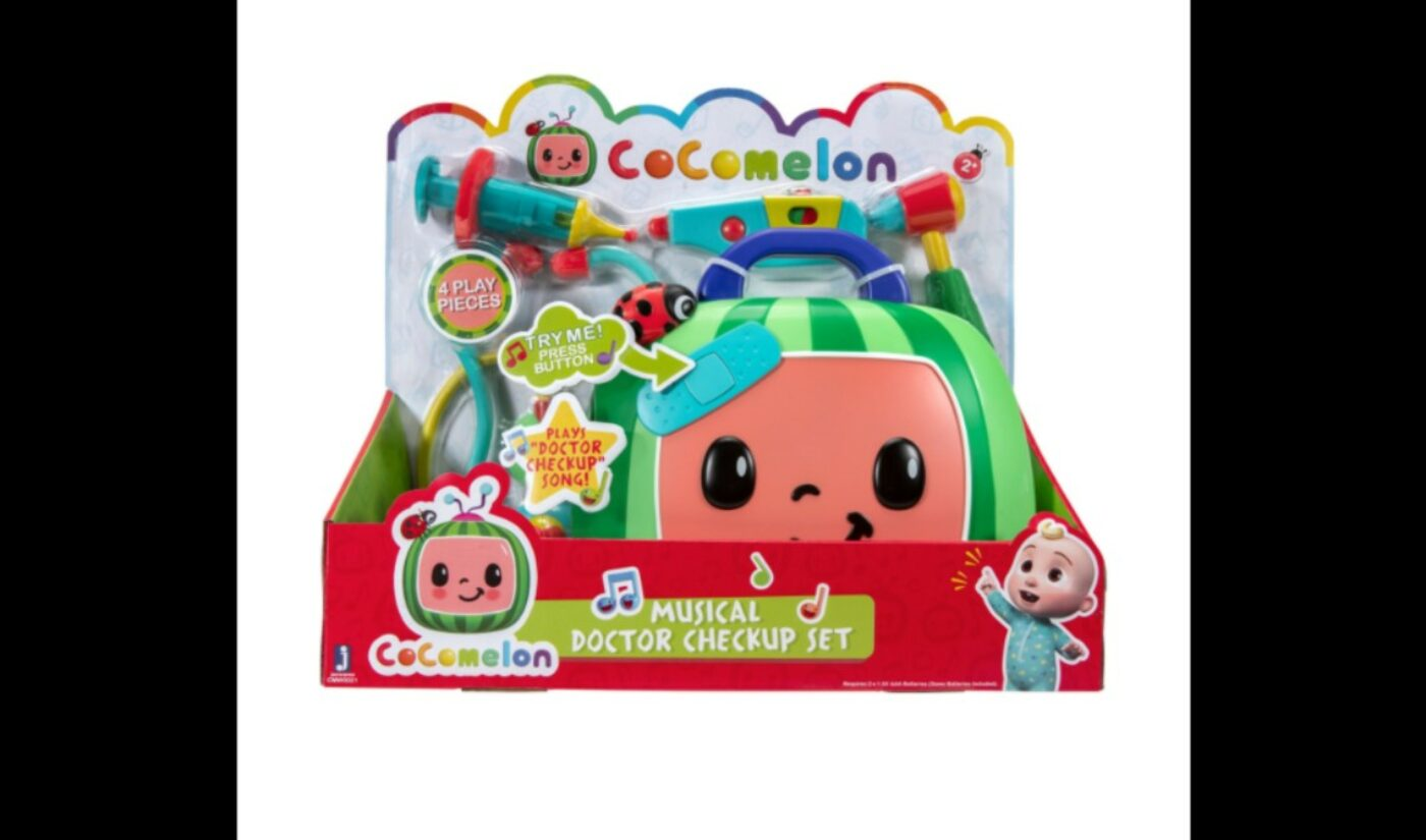 Moonbug's 'Cocomelon' Enters Toy Business, Says It's Replenishing Stock Amid High Demand