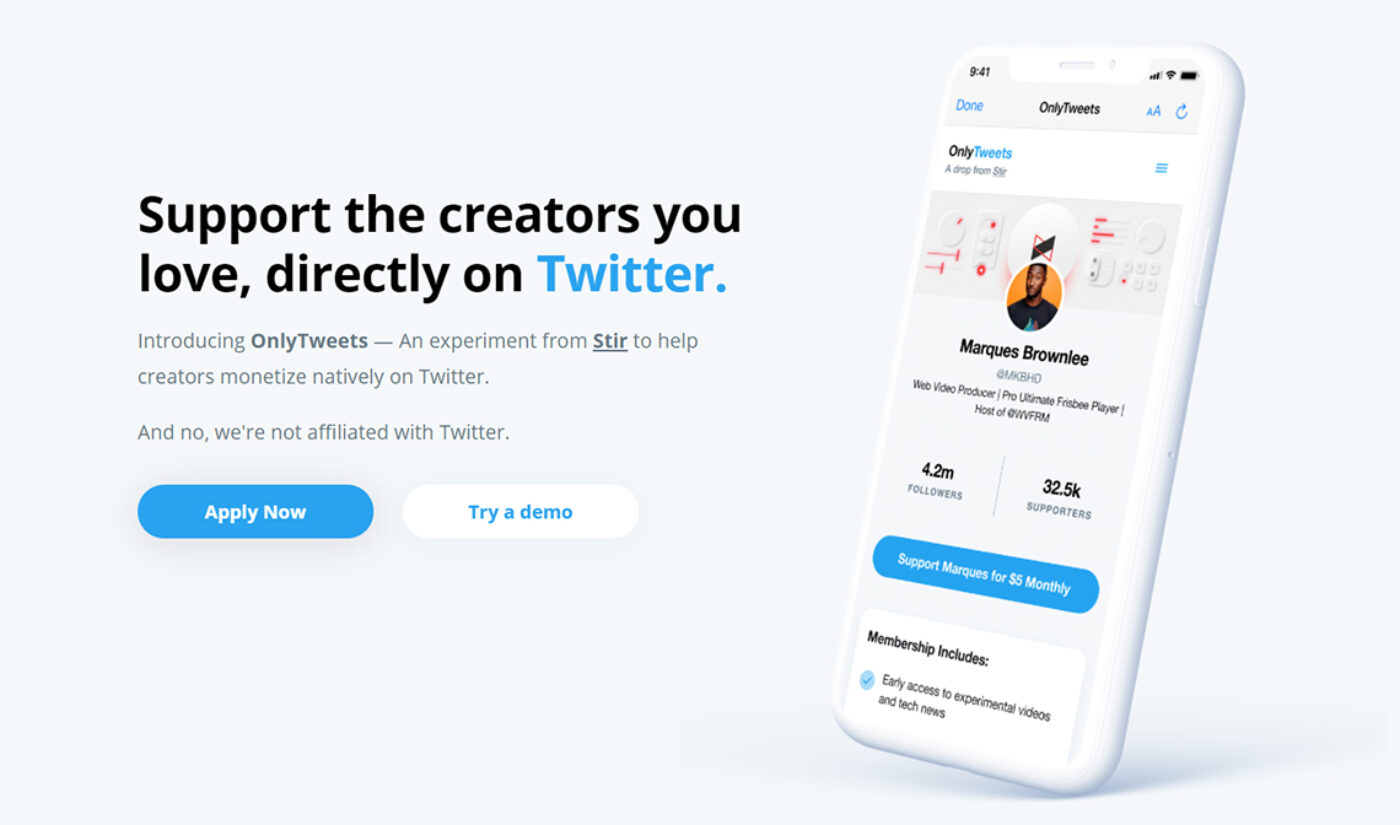 Meet OnlyTweets, The Unofficial Twitter Feature That Lets Creators Monetize Their Feeds
