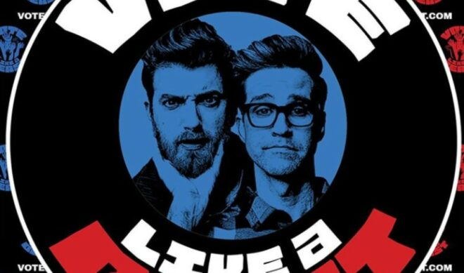 Rhett & Link Launch 'Vote Like A Beast' Registration Campaign Ahead Of Presidential Election