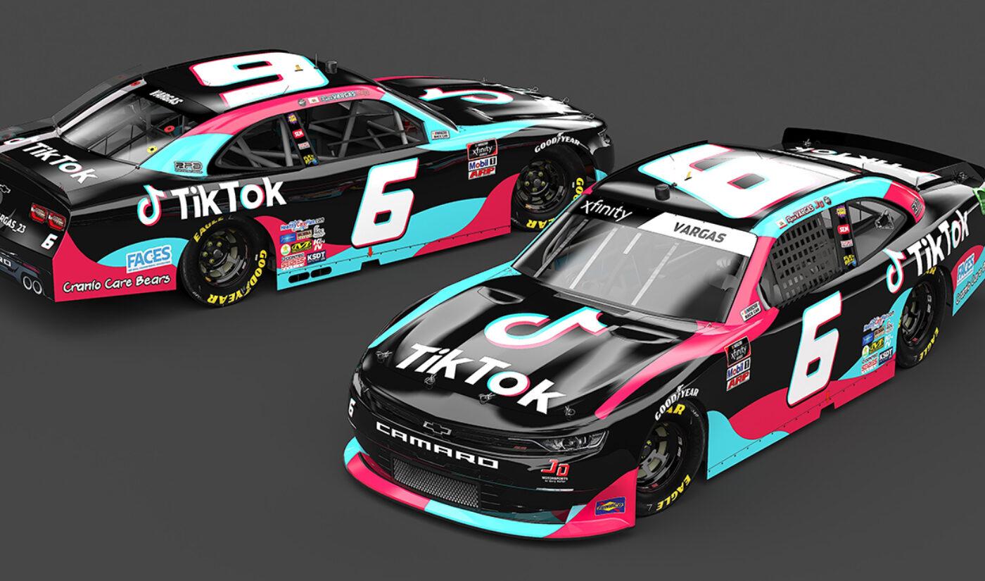 TikTok Is Now Sponsoring A NASCAR Driver