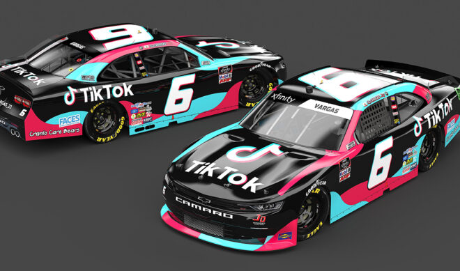 TikTok Is Now Sponsoring A NASCAR Driver