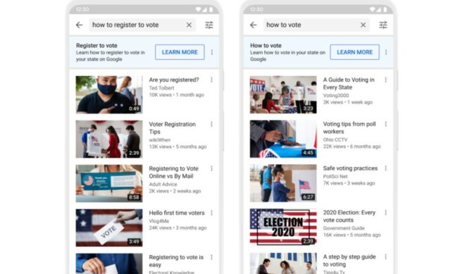 YouTube Unveils New Tools To Thwart Misinformation About Mail-In Voting