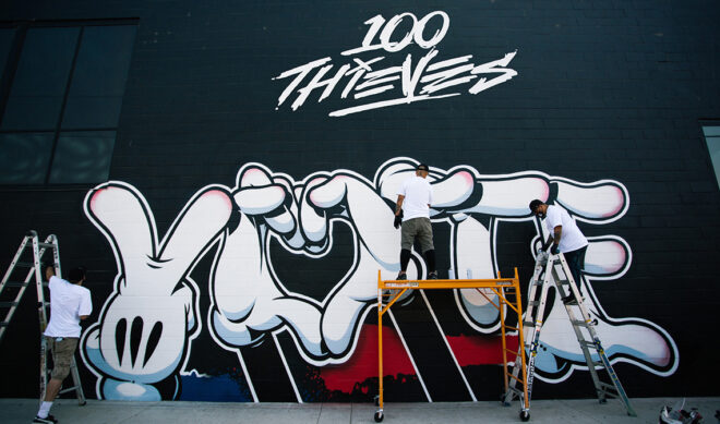 100 Thieves Is Turning Its Cash App Compound Into A Voting Center
