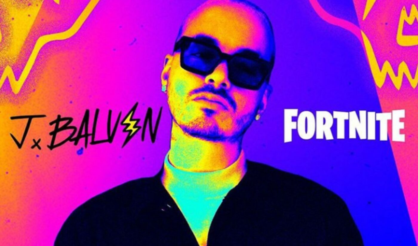 'Fortnite' Taps J Balvin For Latest In-Game Concert In Honor Of Halloween
