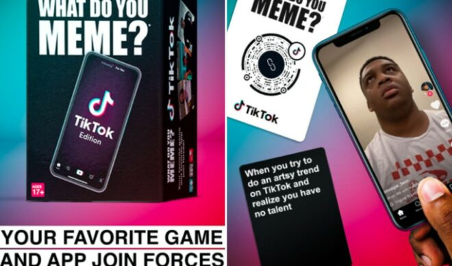 Adult Card Game 'What Do You Meme?' Launches Official TikTok Edition