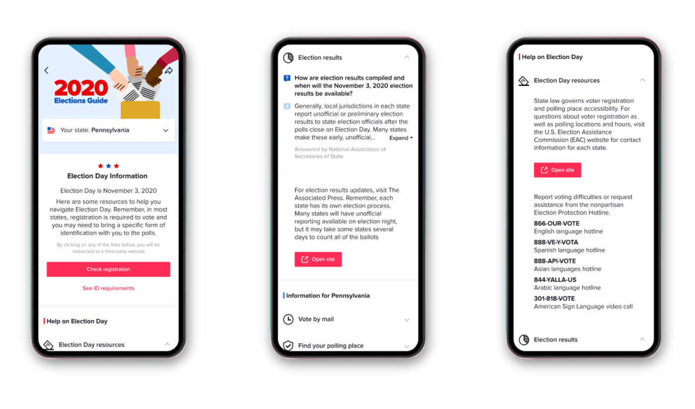 TikTok Partners With Associated Press To Display Live Election Results In 'For You' Feed