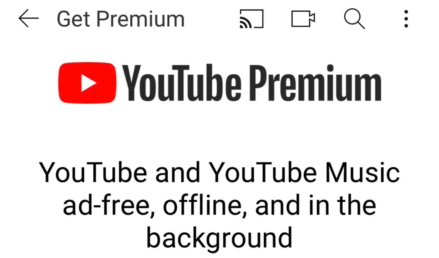 YouTube Piloting Cheaper 'Premium Lite' Option In Europe For Ad-Free Viewing