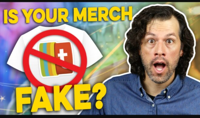 Counterfeit Merch Is A Big Problem For Creators, And It's Even Worse Than You Think.