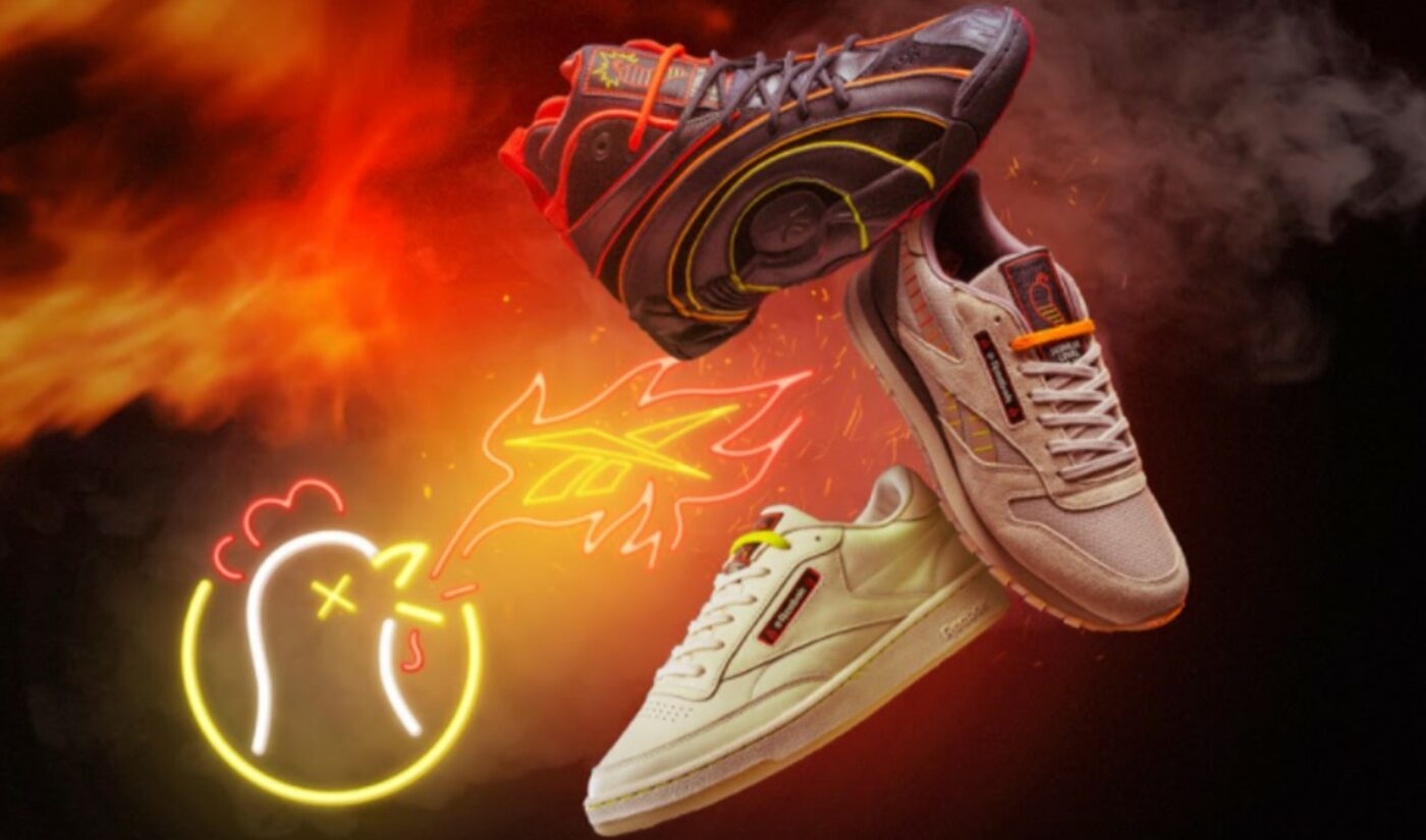 Reebok Sits Down With Hit YouTube Franchise 'Hot Ones' For Footwear, Apparel Collaboration