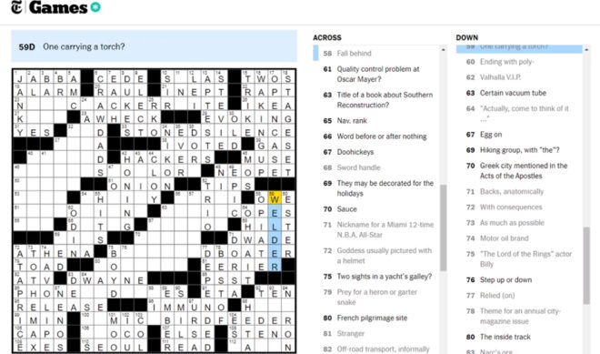 The New York Times Is Broadcasting Collaborative Crosswords On Twitch