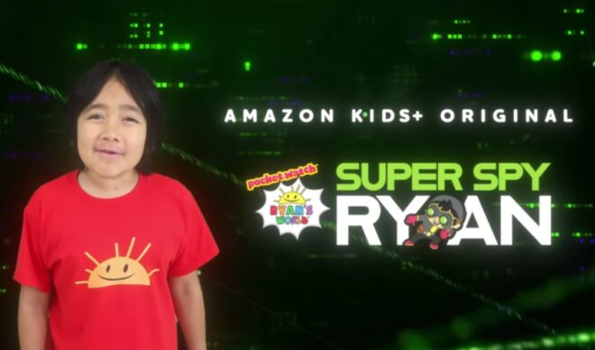 Amazon Kids+ Pacts With Ryan Kaji For Its First Original, With Toy Tie-In