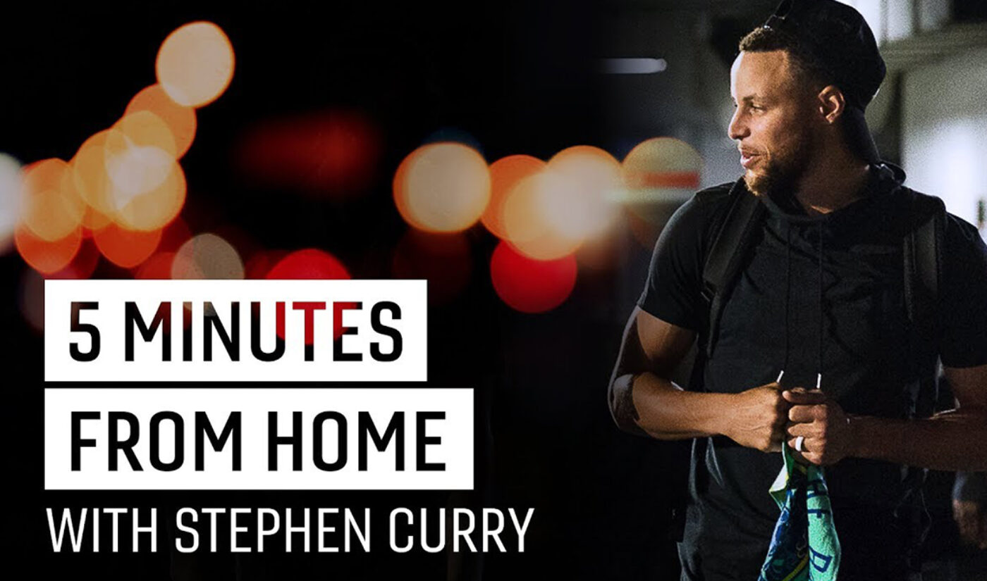 Steph Curry's YouTube Series '5 Minutes From Home' Is Becoming An Audible Original Podcast