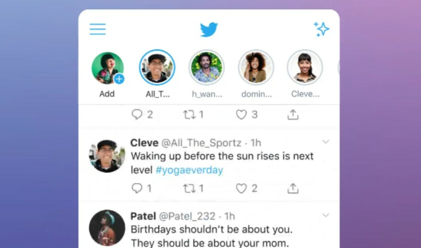 Twitter Launches Stories-Like 'Fleets' Feature, With 'Audio Spaces' Soon To Follow
