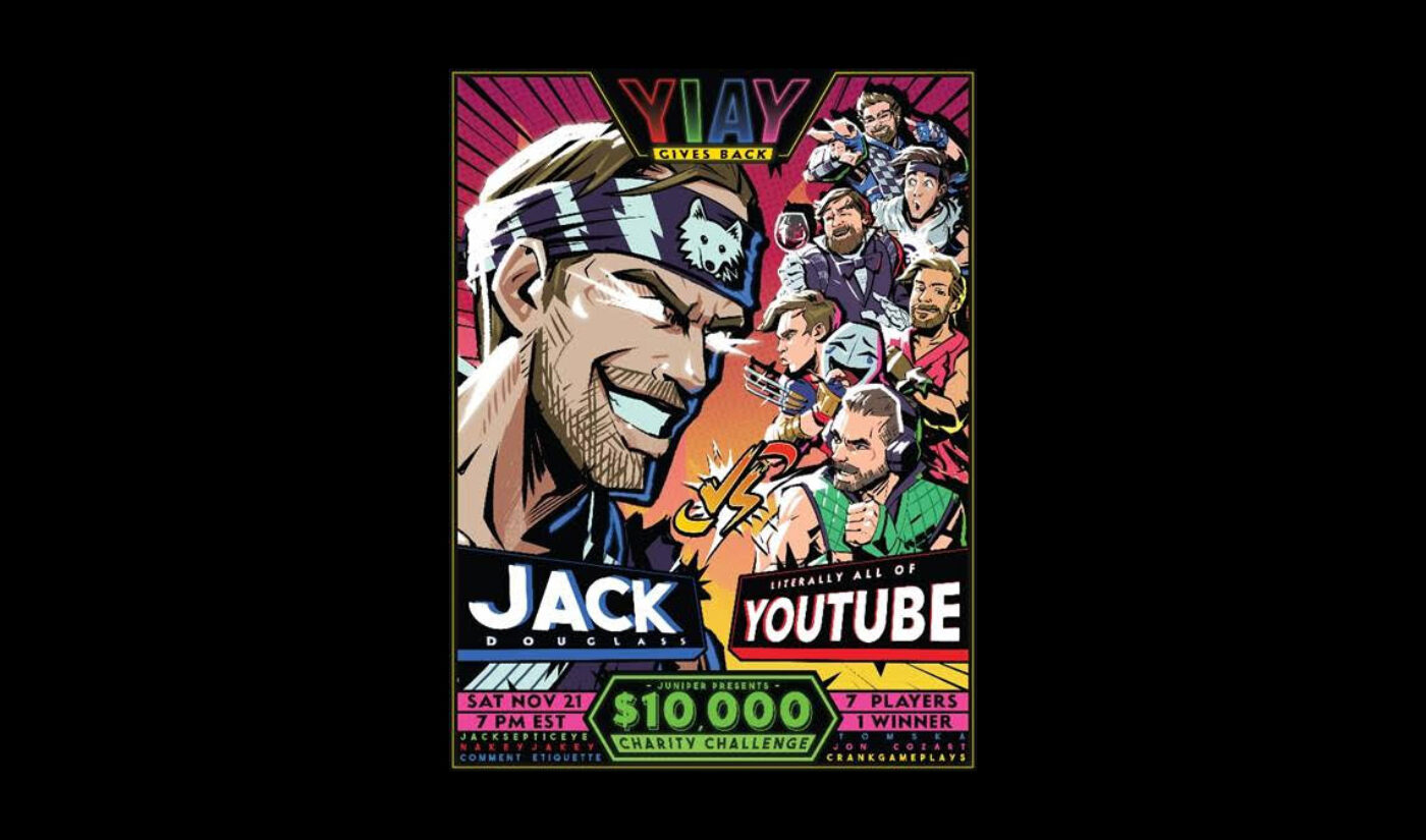 Jacksfilms Will Take On Fellow YouTubers In 'YIAY: The Board Game' For Charity Live Stream