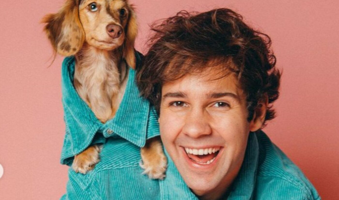 David Dobrik To Host 'Peace Out 2020' Year-End Special On Facebook Watch