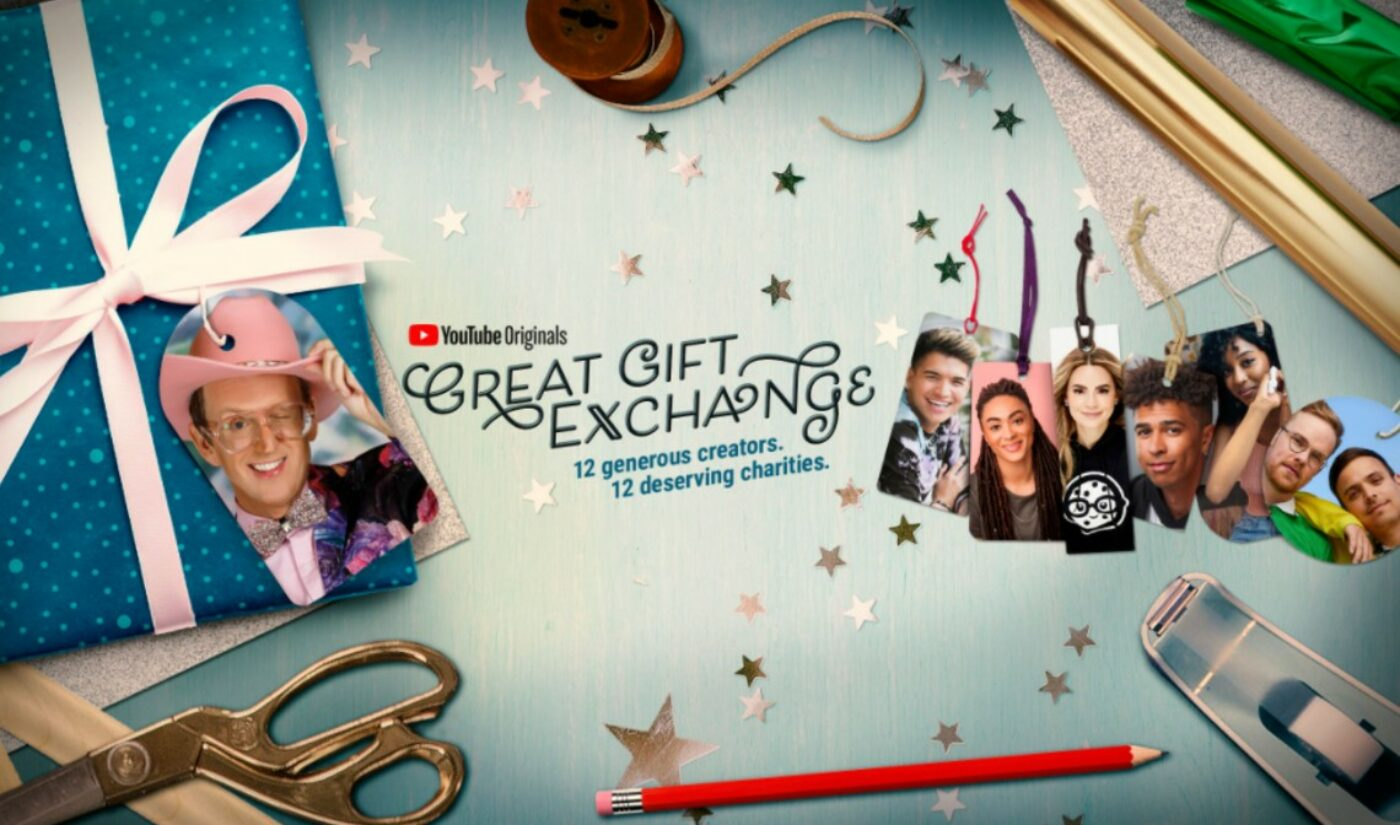 YouTube's Latest Original Is A Charitable 'Secret Santa' Exchange With AsapSCIENCE, Molly Burke, More