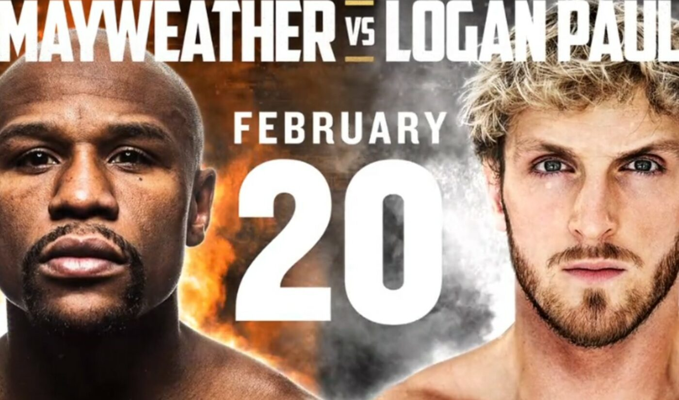 Logan Paul Will Fight Floyd Mayweather In An Exhibition Match On February 20