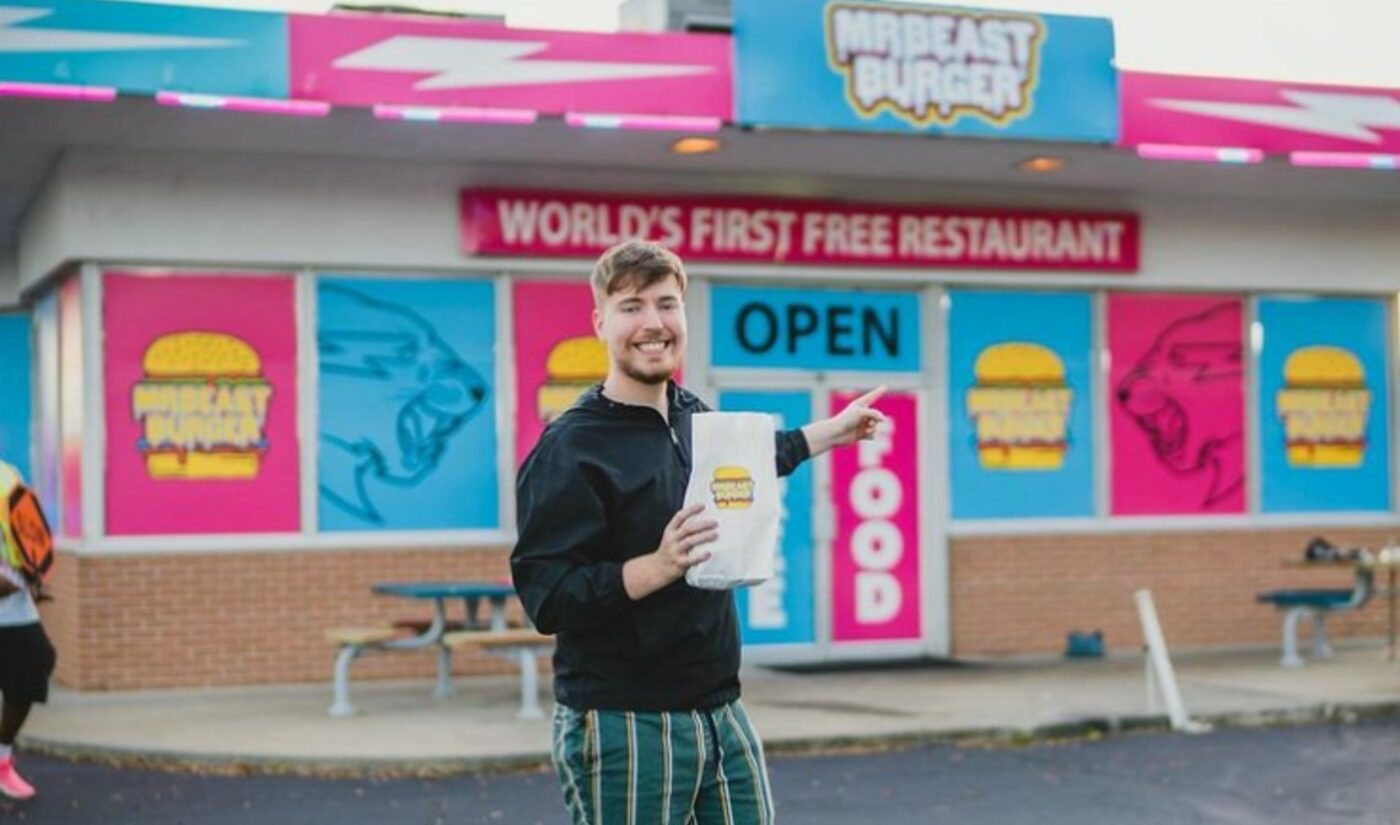 MrBeast's Latest Video Stunt Spawns Nationwide, Delivery-Only Burger Chain