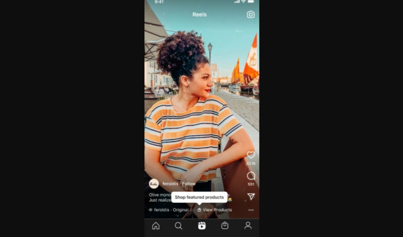 Instagram Makes 'Reels' Shoppable, Bringing Ecommerce To Every Format On The App